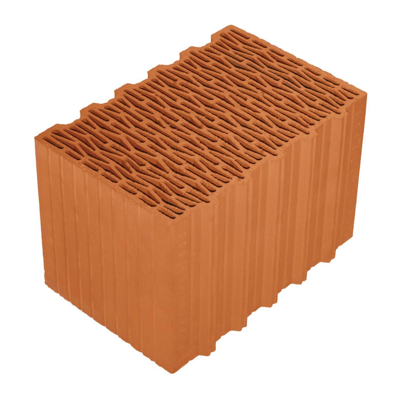 Porotherm 38 Klíma (Climate) brick (Profi, Dryfix)