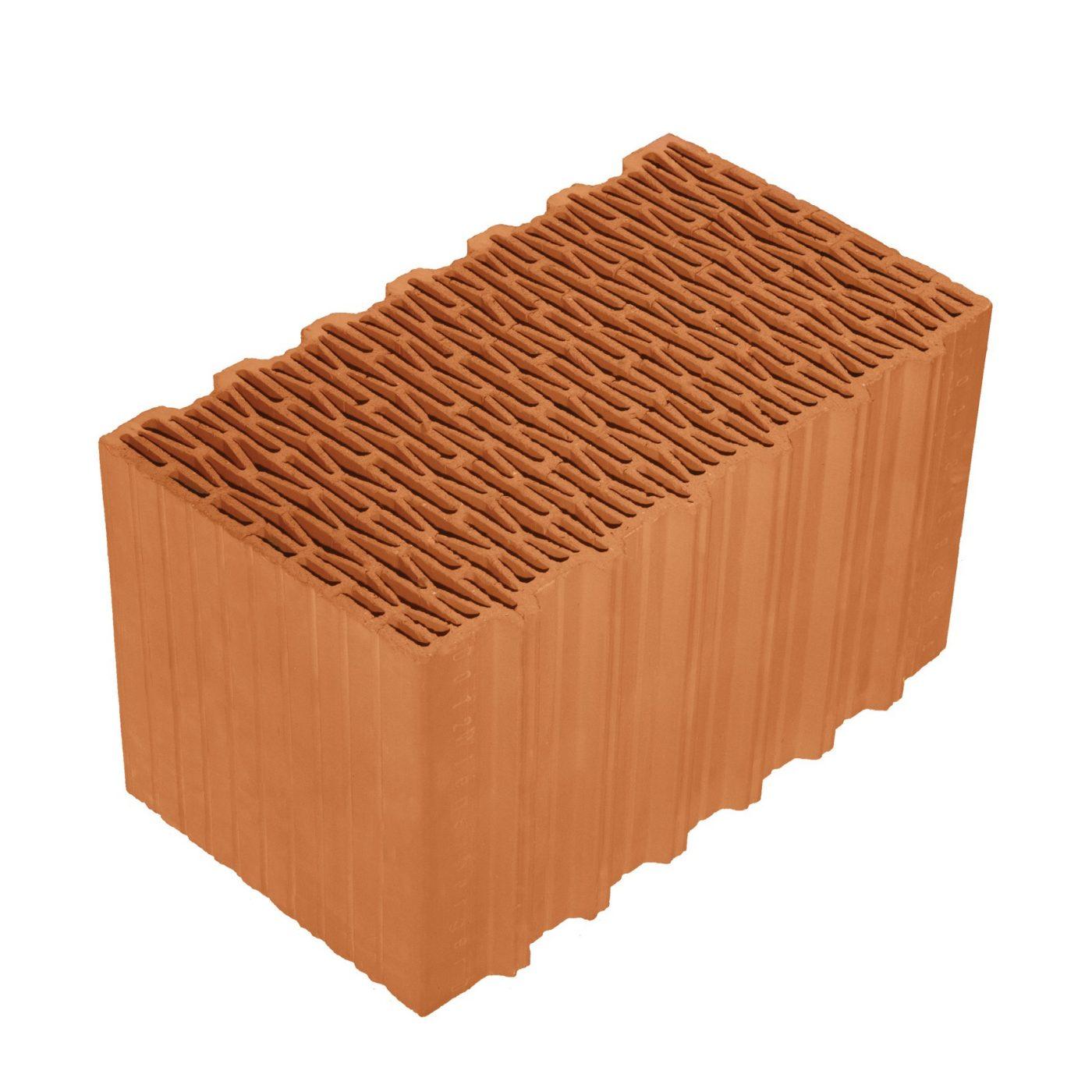 Porotherm 44 Klíma (Climate) brick (Profi, Dryfix)_régi