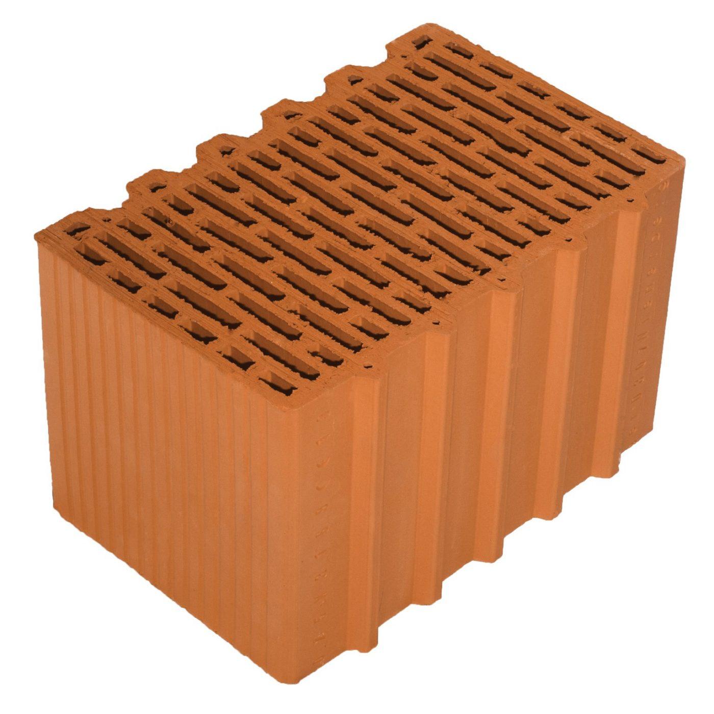 Porotherm 38 N+F brick_régi