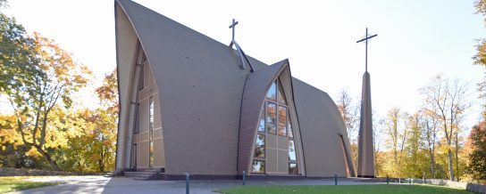 New Church in Dubingiai, Koramic Pottelberg 301 Rustic (872)